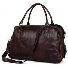 Дорожная сумка 7071C  коричневая