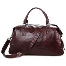Дорожная сумка 7071LC  коричневая