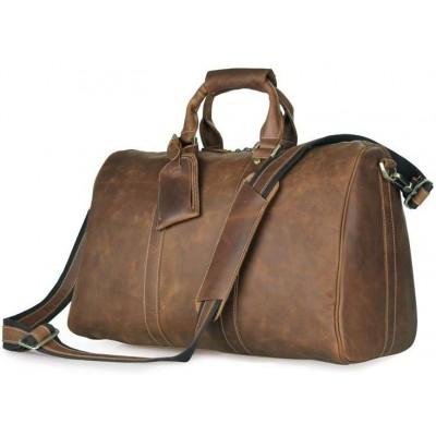 Дорожная сумка 7077B коричневая