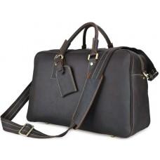 Дорожная сумка 7156Q коричневая