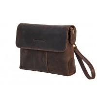 Мужской кожаный клатч сумка Black Diamond BD60Ccrh