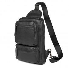 Кожаная сумка мужская через плечо GMD 4011A