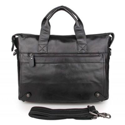 Натуральная кожаная сумка для документов GMD 7120A-1