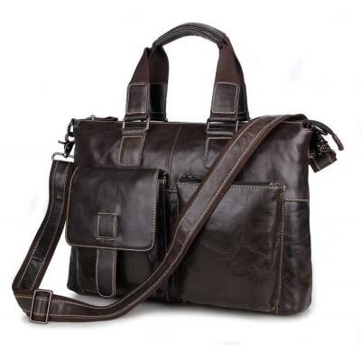 Кожаная сумка для документов GMD 7264J