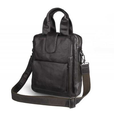 Темно-серая сумка мужская через плечо GMD 7266I