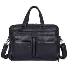Натуральная кожаная сумка для документов GMD 7373A