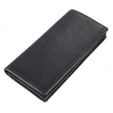 Черное кожаное портмоне GMD 8061A