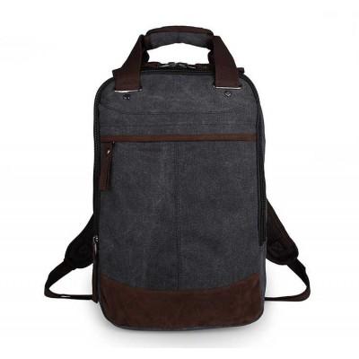 Классический черный рюкзак городской GMD 9028A