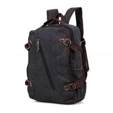 Черный модный рюкзак городской GMD 9037A