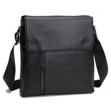 Черная мужская сумка мессенджер Tiding Bag A25-238-1A