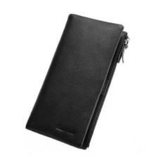 Черное портмоне Hautton QB115