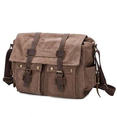 Коричневая тканевая сумка BUG TB669-KH