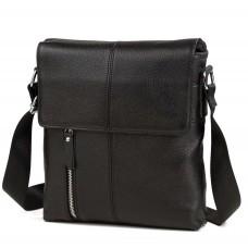 Черная мужская сумка мессенджер Tiding Bag A25-238