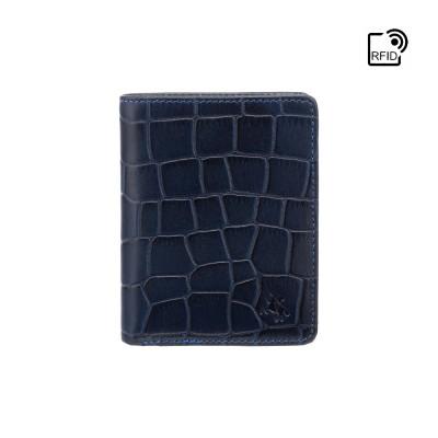 Кошелек мужской Visconti CR91 Caiman c RFID (Blue)
