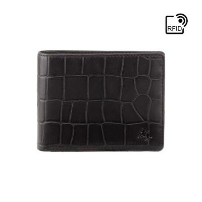 Кошелек мужской Visconti CR92 Gator c RFID (Black)