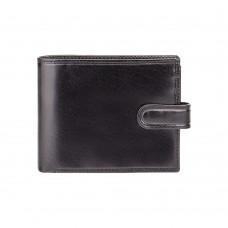 Кошелек мужской Visconti MZ5 Rome c RFID (Italian Black)