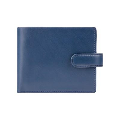 Кошелек мужской Visconti PM102 Leonardo c RFID (Blue Mustard)