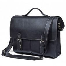 Мужской кожаный портфель TIDING BAG 7090A