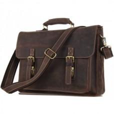 Мужской кожаный портфель TIDING BAG 7205R