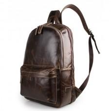 Рюкзак кожаный TIDING BAG 7273Q