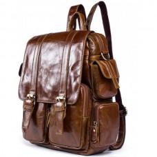 Рюкзак кожаный TIDING BAG 7123C