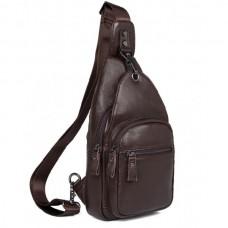 Кожаный рюкзак Tiding Bag 8509C