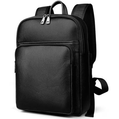 Рюкзак кожаный TIDING BAG M7039A