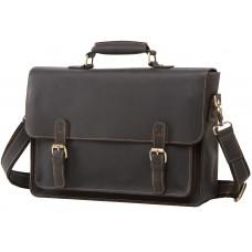 Мужской кожаный портфель TIDING BAG 7205A