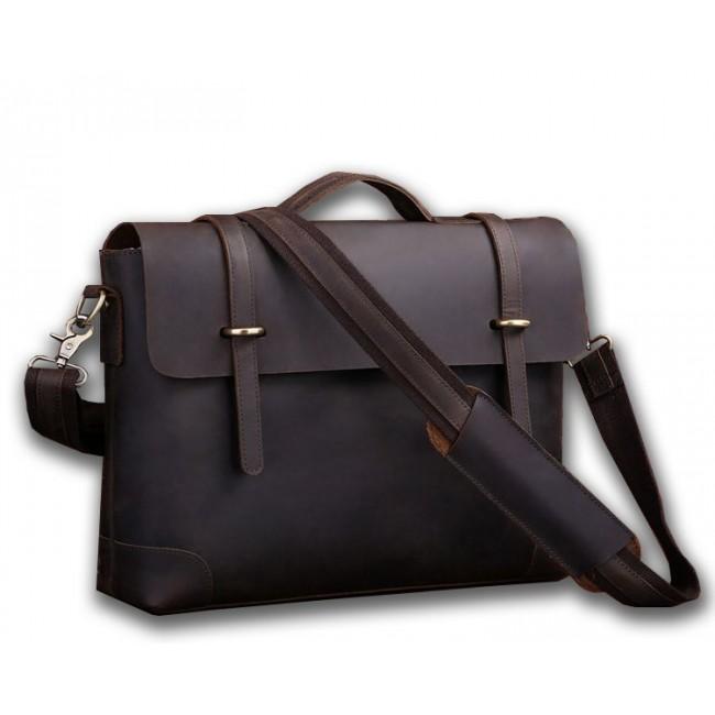 f5ab67d6f075 Мужской кожаный портфель TIDING BAG 7082R-1 по выгодной цене в ...