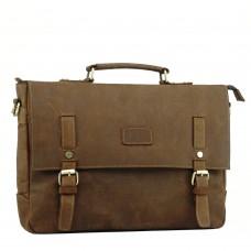 Мужской кожаный портфель TIDING BAG t0020