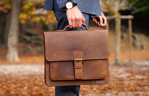 Как подобрать мужскую сумку
