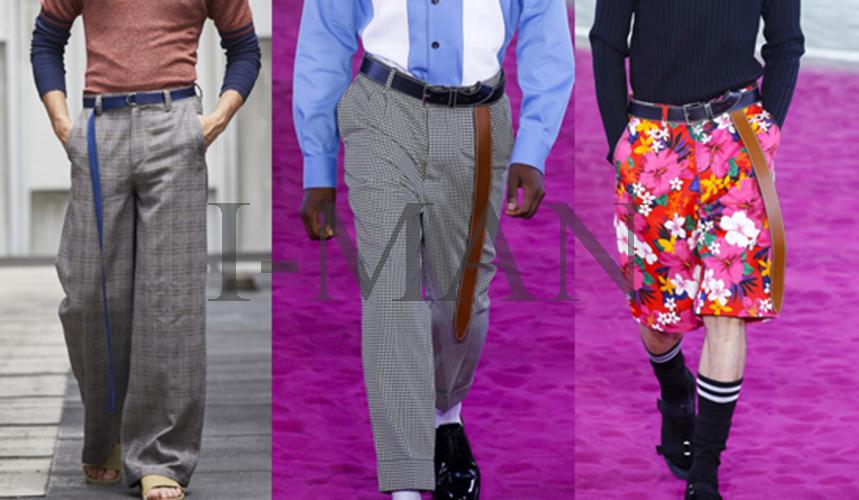 как носить мужской ремень